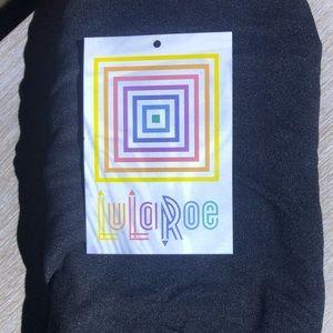 Women's LuLaRoe T&C, NWT, solid black leggings